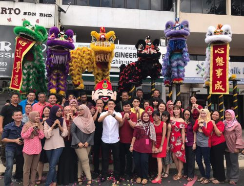Chinese New Year 2018 at HQ Office